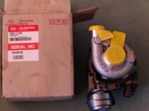 turbocompressore per KIA Sportage - OEM KIA: 2823127400 - Marca Delphi - Costruttore Garrett - Codice: HRX216