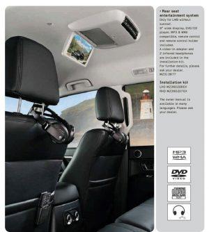 Ilsistema intrattenimento posteriore Mitsubishi Pajero - OEM Mitsubishi: MZ313877 - Catalogo