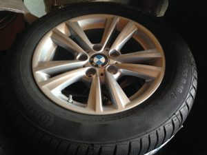 """Continental TS 830 su cerchio in Lega BMW 16"""""""