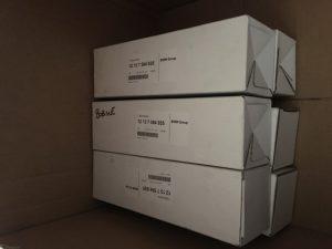 Le bobine di accensione per BMW Serie 3 - OEM BMW: 12137594935 12137559842 12137638477 12137582627 12137571644 – Scatole prodotto