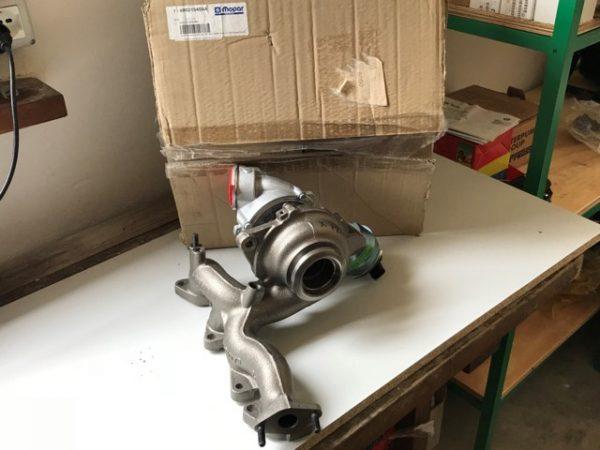 Turbocompressore Jeep - Dodge - OEM: 68021540AA - RX021540AA - 68000633AA - 68000633AB - 68000633AC - MN980335 - 03G253019R - 03G253019V