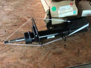 Ammortizzatore anteriore destro per BMW X5 - OEM 31316764602 - 31336750360
