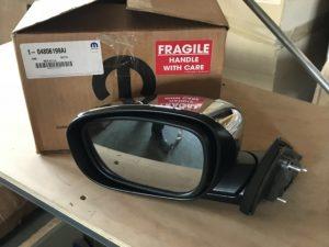 Specchio retrovisore sinistro per Chrysler 300C - OEM Chrysler: K04806199AI 04806199AI 04806199AG 04806199AF 04806199AE - Prodotto e codice