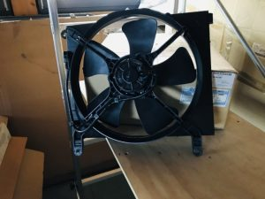 Ventola raffreddamento motore per Daewoo Nubira - Codice OEM: 96181887 - Ricambio e codice