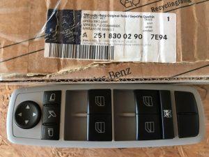 Alzavetro anteriore sinistro per Mercedes GL - OEM A25183002907E94 - A2518300290