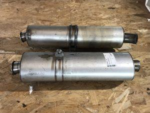 Coppia silenziatori per Ducati 748S - OEM 57410393A & 57310393A