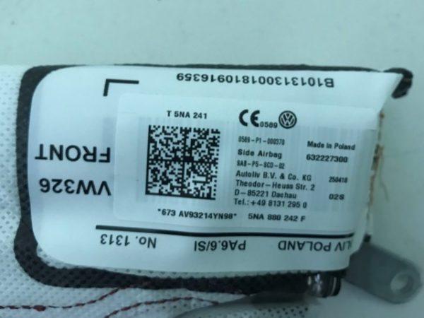 Airbag laterale destro per Tiguain - OEM: 5NA880242F