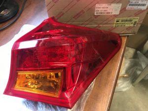 Fanale posteriore destro per Auris - Codice OEM: 81551-02730 815510D390