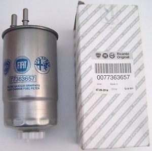 Filtro gasolio FIAT originale 1600cc e 2000cc MTJ - OEM: 77363657