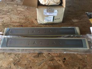 Sottoporta anteriore illuminato Jaguar XF - OEM: C2Z5587SEL -