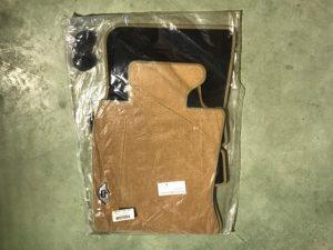 Kit tappeti color beige per Mini R56 - Codice OEM: 99990422987 -