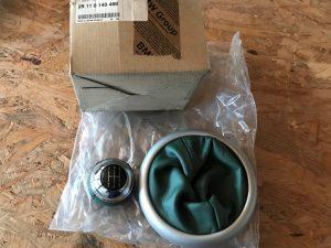 Pomello emerald green per Mini R50 - Codice OEM: 25110140488 25110306006 -
