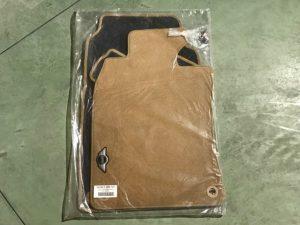 Kit tappeti color beige per Cabrio R57 - Codice OEM: 99990393707 -