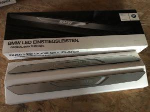 Led sottoporta anteriore per X5 F15 - Codice OEM: 51472289608 -