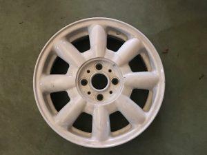 Cerchio in lega R15 Bianco per Cabrio R52 - Codice OEM: 36116756674