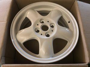 Cerchio in lega R15 Bianco per Cabrio R57 - OEM: 36116769404 -