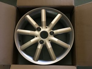 Cerchio in lega R15 per ForTwo Cabrio - OEM: Q0015425V001C31L00 -