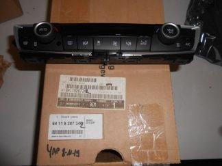 Comando climatizzatore per Bmw serie 3 - 4 - Codici OEM 64119287342 - 64119261087